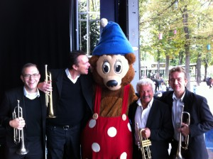 "Tivoli Big Band Trumpet Section and ""Rasmus Klump"""