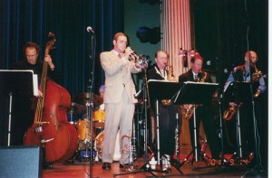 Playing with Arne Domnerus in 2001.