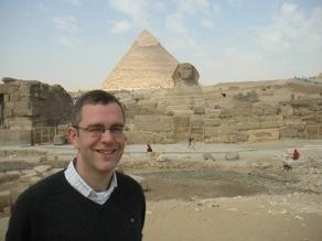 Mårten in Egypt