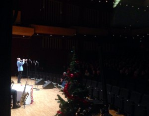 "Playing ""Holy Night"" with The Glenn Miller Orchestra in Västerås Concert Hall 2014"
